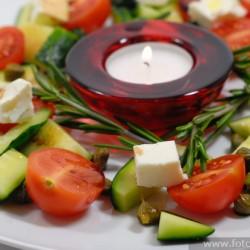 Новогодний салат Jingle bells