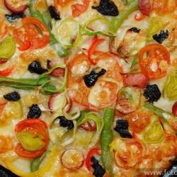 Пицца тонкая и хрустщая