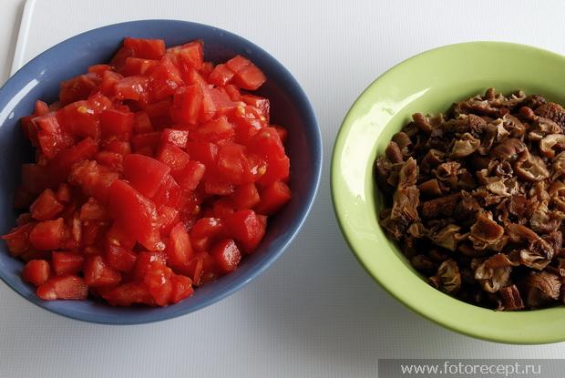 Грибной соус для пасты