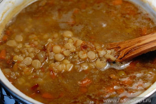 Гороховый суп в духовке рецепт