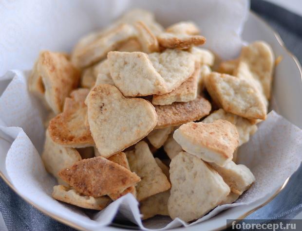 печенья сырные. простой рецепт