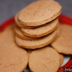 Шоколадно-апельсиновое печенье