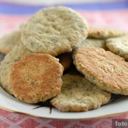 Печенье с зелёным чаем и имбирём