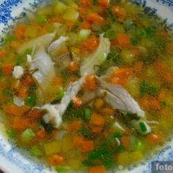 Куриный суп по-русски