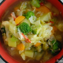 Бонский суп из летних овощей