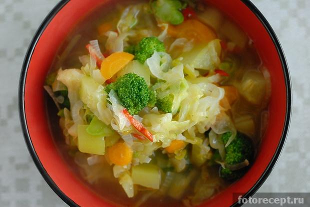 рецепт супа из говядины без картошки рецепт