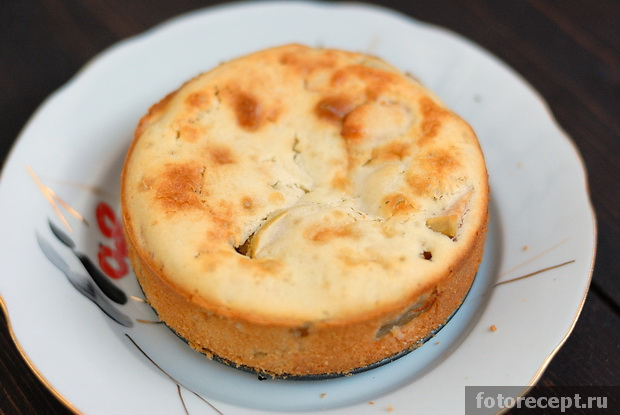 Пирог на простокваше рецепт с фото пошагово