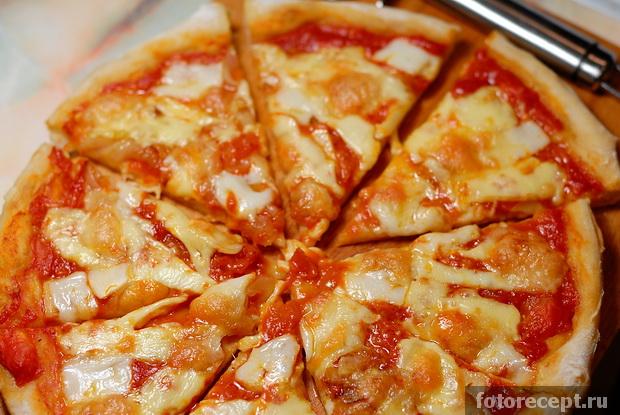 пицца четыре сыра рецепт с фото пошагово