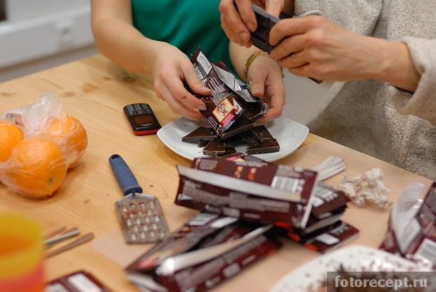 ¬¬¬¬¬Горячий шоколад, мясо в шоколадно-апельсиновом соусе и ягодно-шоколадный десерт Сказки венского леса