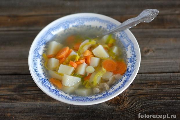 Кулинария суп с курицей рецепт