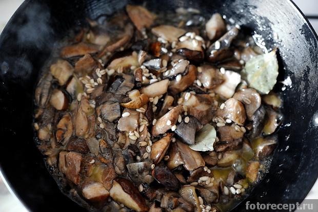 Грибное рагу рецепт с фото #3
