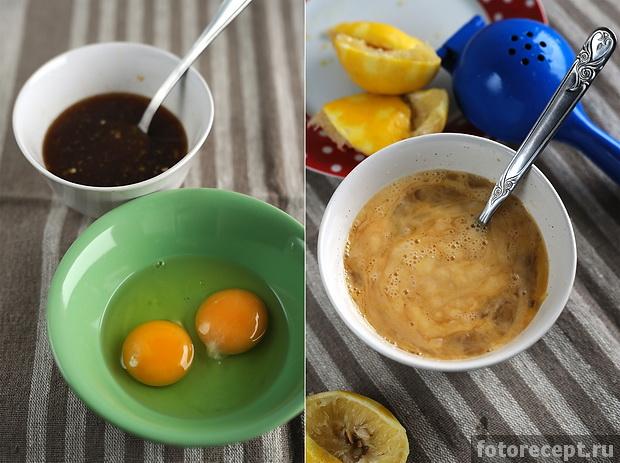 ингредиенты лимонного крема (lemon curd)