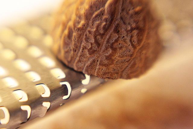 Как тереть мускатный орех