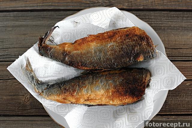 Сельдь жареная рецепт с фото