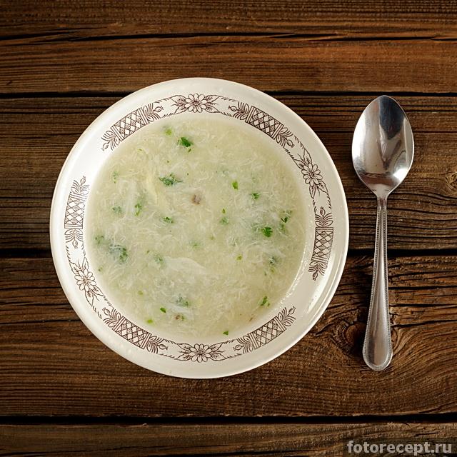Как варить яичный суп