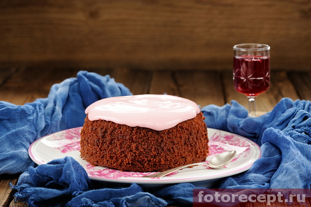 Торт Красный бархат без красителей