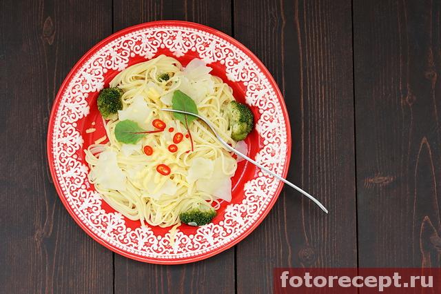 Макароны с картошкой по рецепту Джейми Оливера