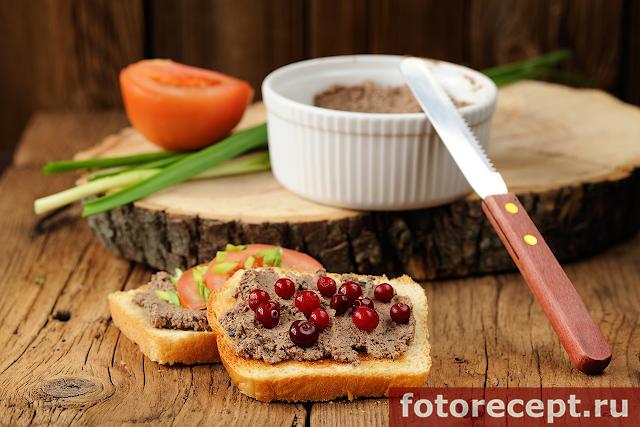 паштет из печени индейки рецепт с ягодами