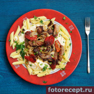 Stewed-beef-meat-with-Bechamel-and-penne-pasta-01