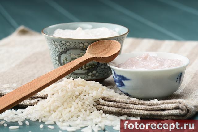 Рисовый пудинг с творогом