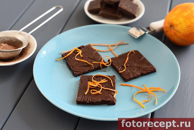 Нежные шоколадные конфеты с имбирём