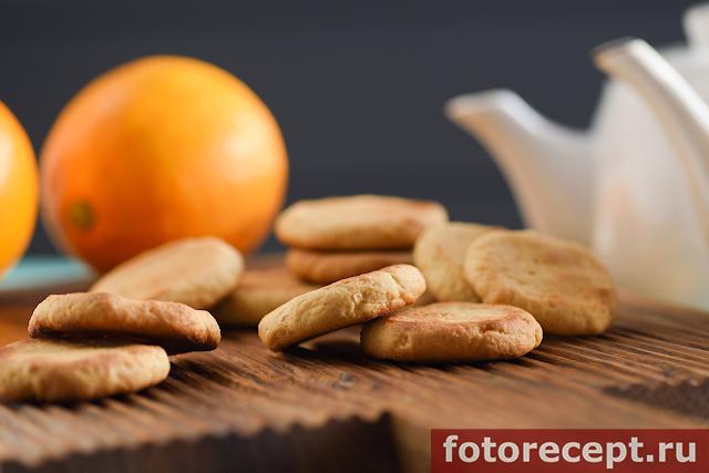 Быстрое лимонное печенье